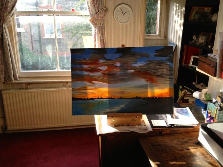 Window plus painting